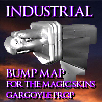 Click to download the 'Industrial Bump for Magic Skins Gargoyle'