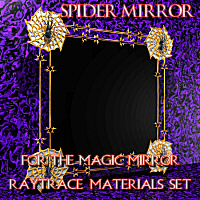 Drow Spider Mirror