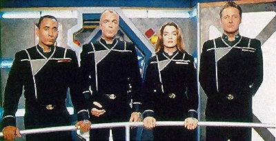 Army of Light Uniform - Babylon 5 cast